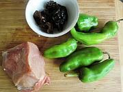 青椒炒肉絲的做法圖解1