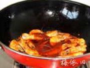 番茄薑味蝦的做法圖解7
