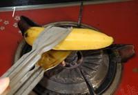 烤香蕉的做法圖解1