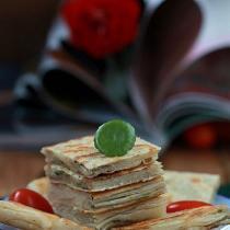 自制速凍蔥油餅