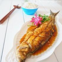 煎燜白魚的做法