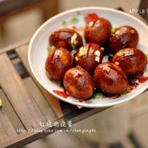 紅燒肉燒蛋的做法