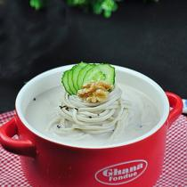核桃豆漿涼麵
