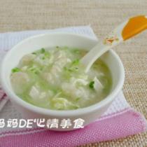 蘿卜疙瘩湯