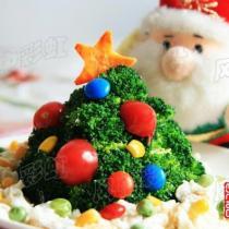 西蘭花聖誕樹