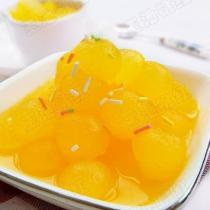 橙汁冬瓜球的做法