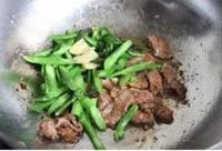 芥蘭炒牛肉的做法圖解9