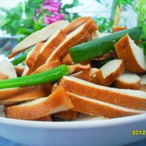 涼拌五香豆腐乾