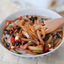 蒜香豆豉涼粉的做法
