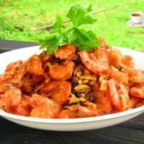 豆豉香酥蝦的做法