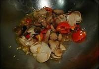 鮑汁草菇幼白菜的做法圖解6