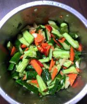 涼拌小黃瓜的做法圖解2