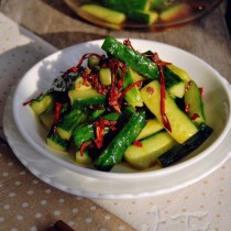 五味黃瓜條的做法