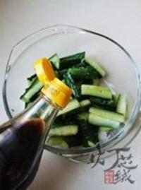 五味黃瓜條的做法圖解4