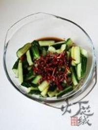 五味黃瓜條的做法圖解7