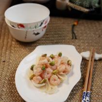 開心百合蝦的做法