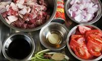 番茄牛肉的做法圖解1