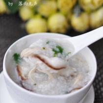 香菇雞絲粥