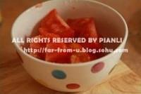 番茄菜花的做法圖解4