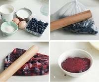 藍莓冰激凌的做法圖解2