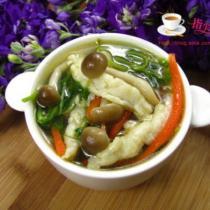 五彩魚絲湯