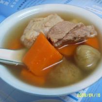 無花果紅蘿卜瘦肉湯