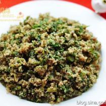 藜麥拌香椿的做法