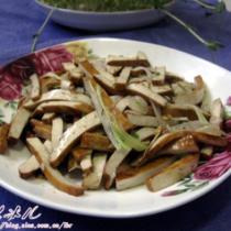 蔥香豆腐乾的做法