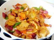 香辣乾鍋土豆片的做法圖解13
