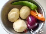 香辣乾鍋土豆片的做法圖解1