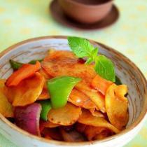 香辣乾鍋土豆片的做法
