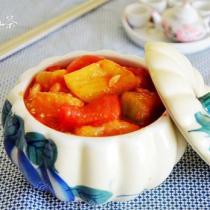 西紅柿燒茄子