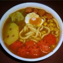 咖喱烏冬麵