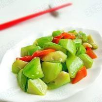 清炒絲瓜的做法