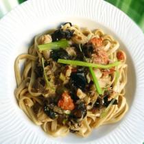 鮮美醇厚蟹肉燴麵