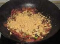 酢廣椒炒臘肉的做法圖解6