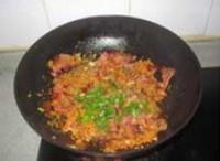 酢廣椒炒臘肉的做法圖解9