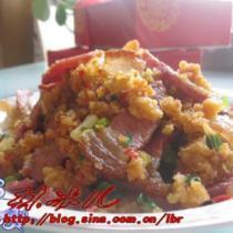 酢廣椒炒臘肉的做法