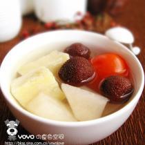 楊梅梨子番茄紅薯湯