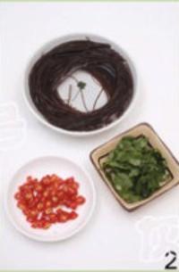 酸辣蕨根粉的做法圖解2
