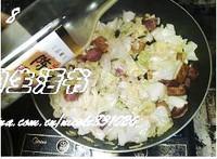 小炒圓白菜的做法圖解8
