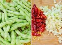 乾煸四季豆的做法圖解1