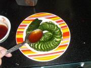 蓑衣黃瓜的做法圖解8