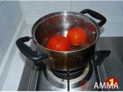 番茄雞蛋拌麵的做法圖解1