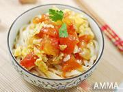 番茄雞蛋拌麵的做法圖解8