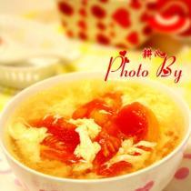 番茄蛋花湯的做法