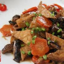 香菇燒豆腐的做法