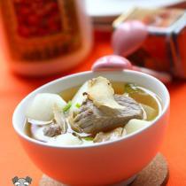 蘿卜天麻豆醬湯