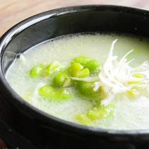 銀魚蠶豆湯