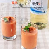 西班牙番茄冷湯的做法